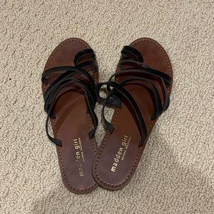 🌹3 for $45🌹madden girl black strappy sandals